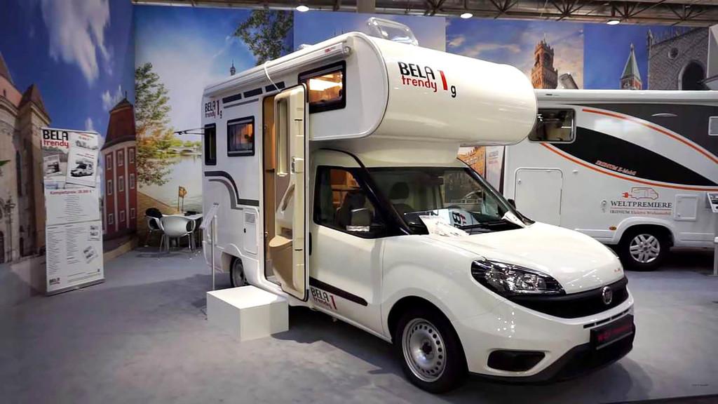 Tamaño de SUV, comodidades de autocaravana: la Bela Trendy 1 es una Fiat Dobló hecha casa, por 36.990 euros
