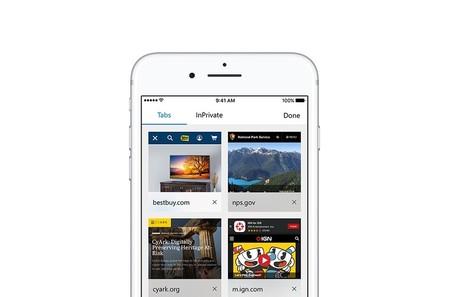 Microsoft Edge ya está disponible en la App Store, aunque por ahora solo en Estados Unidos