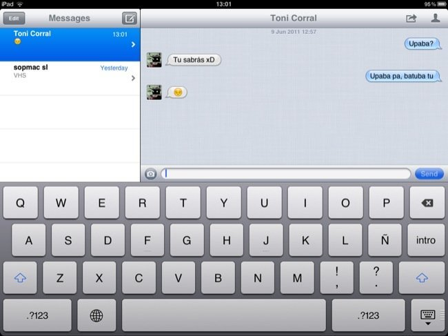 iOS 5 iPad
