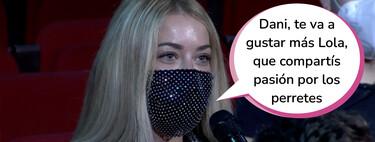PopRosito: Mayka ('La Isla de las Tentaciones') se cuela en 'La Resistencia' y Dani Rovira la bombardea por ponerle los cuernos a Pablo