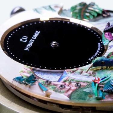 El nuevo reloj de Jaquet Droz es una joya de la mecánica y el arte en movimiento