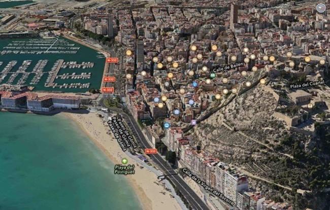 Alicante en 3D gracias a los Mapas de Apple