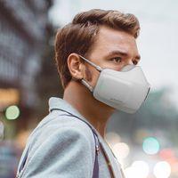 """El nuevo """"cubrebocas electrónico"""" de LG es en realidad un purificador de aire con dos ventiladores para que respirar sea más fácil"""