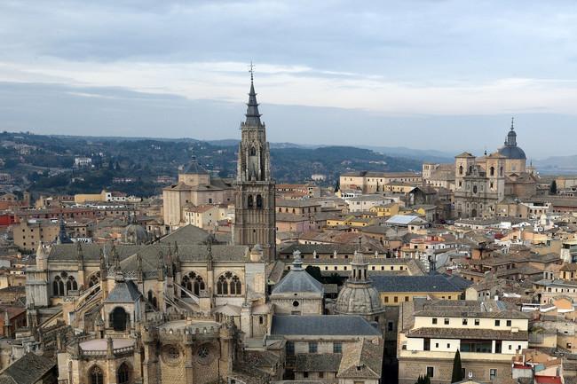 Toledo desde el Alcázar
