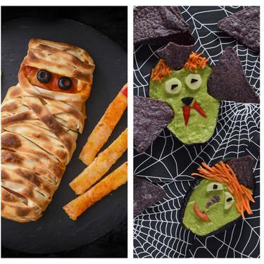 El Halloween más salado en 25 recetas de snacks y aperitivos