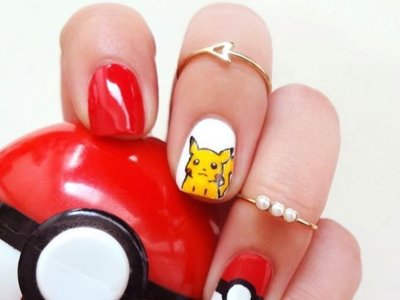La fiebre de Pokémon Go llega a las manicuras, ¿te atreves?
