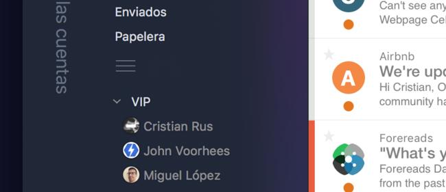 VIPs Airmail