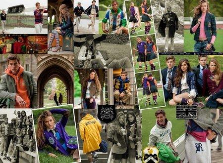 Rugby Ralph Lauren, la campaña más 'college' del Otoño-Invierno 2012/2013