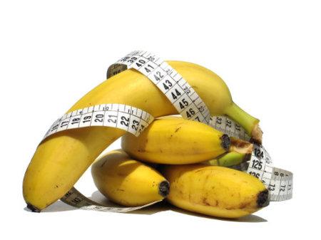 El plátano no engorda y es una ayuda para adelgazar