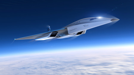 Virgin Galactic Mach 3 Aircraft 3