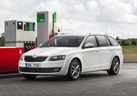 Škoda Octavia G-tec a gas natural comprimido