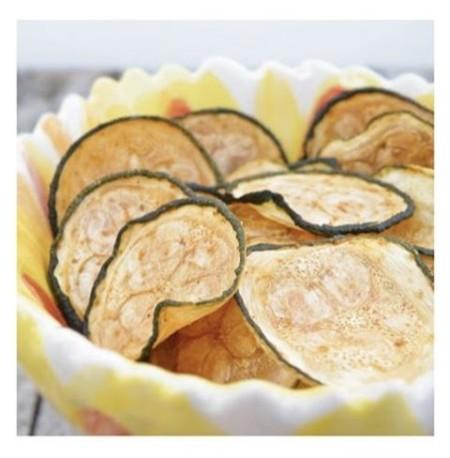 Chips de calabacitas