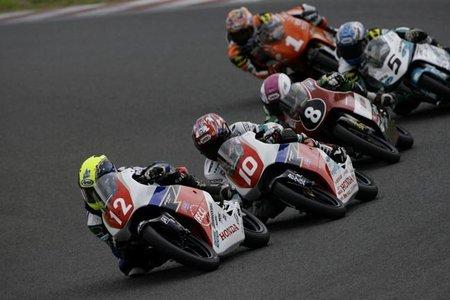 Primera victoria de la Honda NSF250R en Sugo 2011