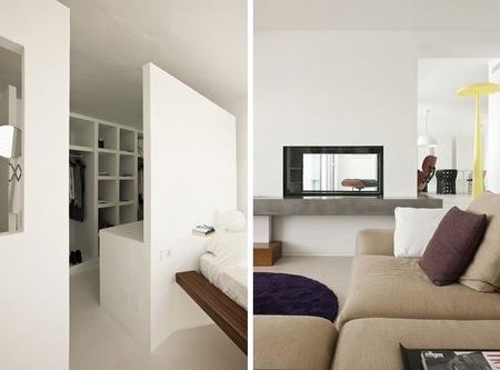 Puertas abiertas sensacional casa de veraneo en ibiza for Espacios minimos arquitectura