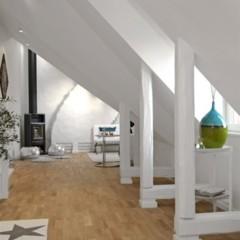 Foto 3 de 10 de la galería casas-que-inspiran-un-atico-abuhardillado-con-aires-de-mar en Decoesfera