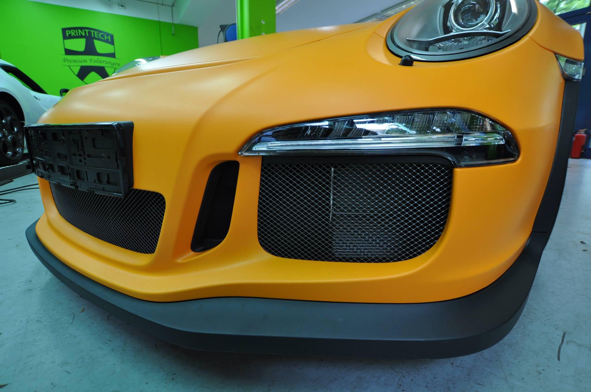 Foto de Porsche 911 GT3 RS naranja mate (8/12)