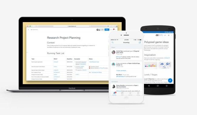 Dropbox Paper Desktop And Mobile2