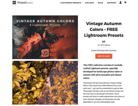 Vintage Autumn Colors Lr Presets 2