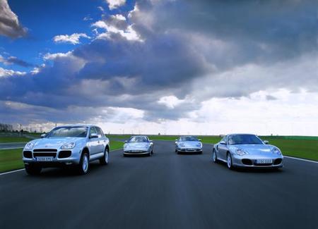 Porsche model range
