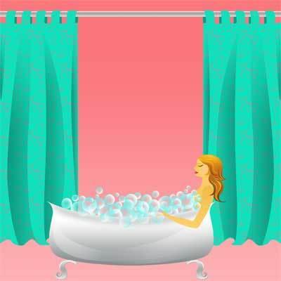 La ducha, un lugar idóneo para estirar