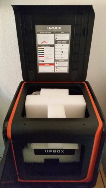 Preparando la UP BOX para su funcionamiento