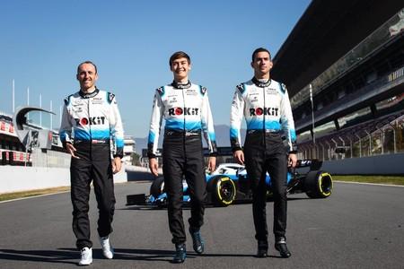 Kubica Russell Latifi F1 2019