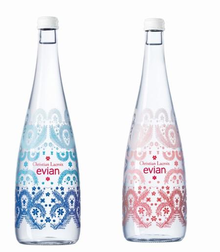 Atenci n coleccionistas christian lacroix dise a la botella del 10 aniversa - Evian christian lacroix ...