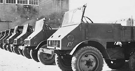 Mercedes Unimog 06