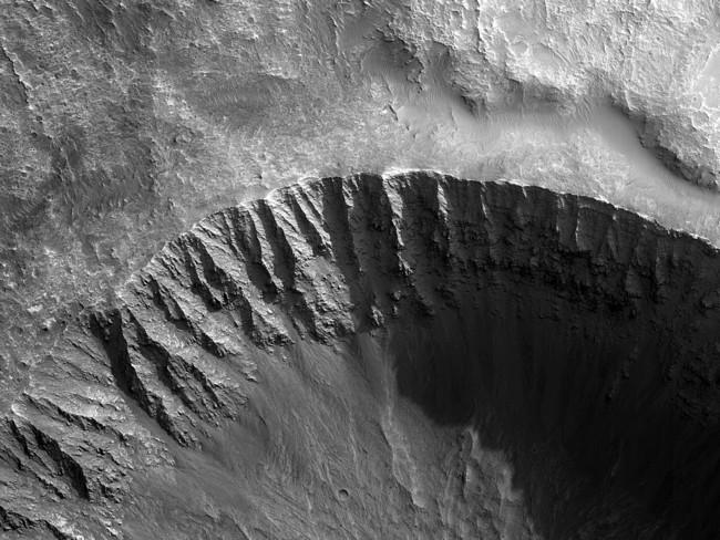 Un Crater De Impacto De 6 Kilometros Bien Conservado