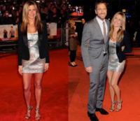 Jennifer Aniston en la premiere de The Bounty Hunter en Londres