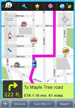 Waze, un navegador GPS con datos creados por los usuarios