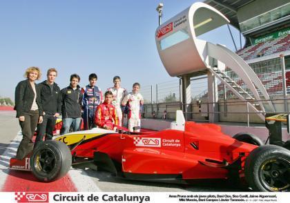 Buena nota para los jóvenes pilotos del Circuit