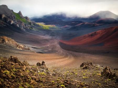 La espectacularidad del paisaje volcánico de la isla de Hawai de la mano de Bryan Geiger