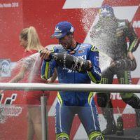 """Álex Rins consigue su primer podio en MotoGP: """"Ha sido una carrera muy dura"""""""