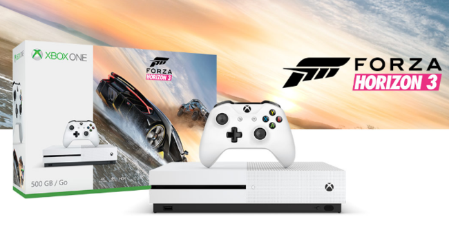 Xbox One S Forza Horizon 3