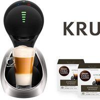 Chollo en la cafetera automática Krups Movenza, que cuesta 79 euros en Amazon y viene con 48 cápsulas de regalo