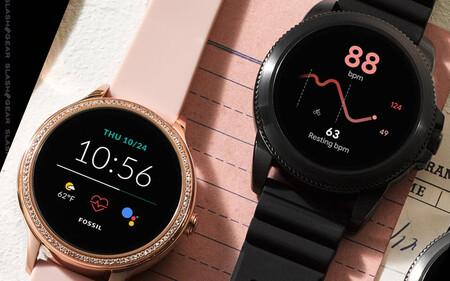 El Fossil Connected 5E se desploma en Amazon hasta su precio mínimo de 160 euros, un smartwatch elegante con Wear OS, GPS y NFC