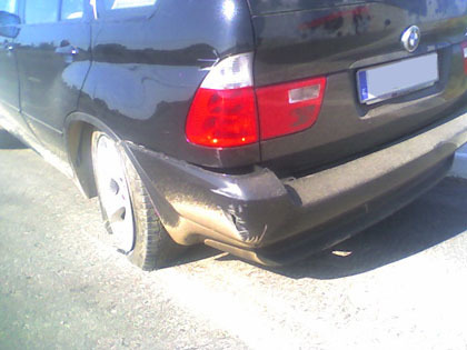 BMW X5 Todobordillo