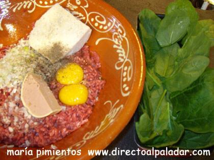 pasteldecarneingredientes