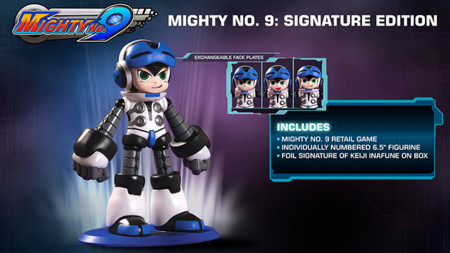 ¡Ni lo sueñes! Mighty No. 9 Signature Edition no estará disponible para Wii U