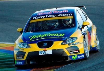 Tiago Monteiro pilotará para SEAT en el WTCC