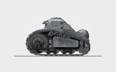 El primer híbrido que Peugeot quiso vender en su historia llegó hace más de un siglo, y no era un coche: era un tanque