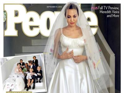 Entre la boda de Brangelina y los hackers se mueven las celebrities