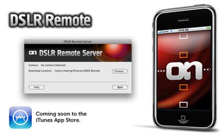 DSLR Remote, controlando las cámaras réflex de Canon desde el iPhone