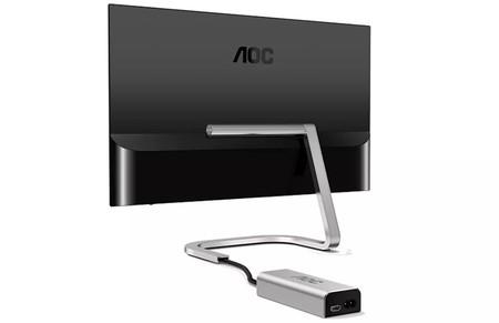 En este monitor de AOC y Porsche ideal para minimalistas (casi) no verás los cables