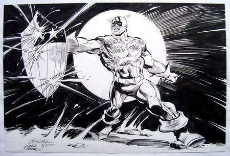 El Capitán América de Gene Colan