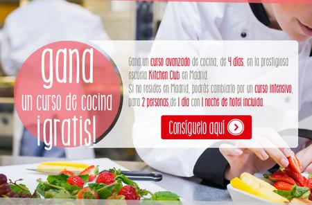 Gana un curso de cocina en la prestigiosa escuela Kitchen Club de Madrid con Helios es Vida