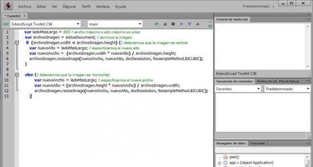 Automatiza tareas complejas en Photoshop con Adobe ExtendedScript Toolkit (I)