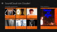 Clouder!, toda la música de SoundCloud en Windows 8. La aplicación de la semana