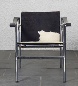 silla basculante le corbusier